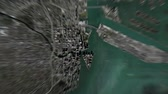świat : Miami Florida United States of America seen from space to street level. It can easily be used for tourism marketing videos, business marketing videos or professional presentation videos.