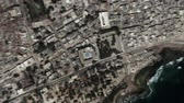 Mogadishu Somalia seen from space to street level. It can easily be used for tourism marketing videos, business marketing videos or professional presentation videos. Стоковые видеозаписи