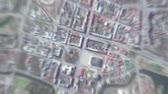 Minsk Belarus seen from space to street level. It can easily be used for tourism marketing videos, business marketing videos or professional presentation videos.
