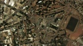 Niamey Niger seen from space to street level. It can easily be used for tourism marketing videos, business marketing videos or professional presentation videos. Стоковые видеозаписи