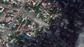 Paramaribo Suriname seen from space to street level. It can easily be used for tourism marketing videos, business marketing videos or professional presentation videos.