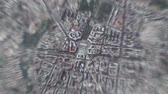 planeten : Yerevan Armenia seen from space to street level Stockvideo