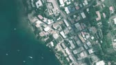 planeten : Port Vila Vanuatu seen from space to street level