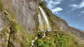 fúria : HD video of beautiful waterfall in Iceland, HD video.