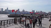 Waitan embankment of Shanghai