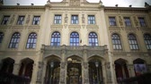 ethnology : View on famous Bavarian State Museum of ethnology in Munich, sightseeing tour