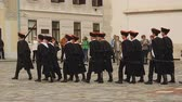 alay : Guard of honour of Zagreb marching on Saint Marks square, Cravat Regiment