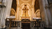 spirituality : Details of interior of Cattedrale di San Gennaro in Naples, religion and faith