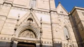catolicismo : Exterior of  Roman Catholic cathedral of the Assumption of Mary, architecture Vídeos