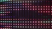brilho : Multicolored LED lights illuminating on professional audio equalizer, nightclub