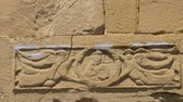 фреска : Architectural decoration angels with cross on Jvari Monastery wall, Mtskheta