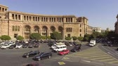ministers : Yerevan city center and Armenian landscape, beautiful aerial view