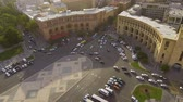 předpis : Transportation in Yerevan town, cars driving on Republic square, traffic rules