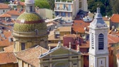 miasto : Top view of Sainte-Reparate Cathedral roof, architecture in Nice, tourism