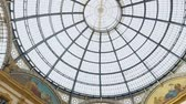 fresk : Italian Galleria Vittorio Emanuele II, beautiful interior, historical attraction