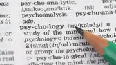 gramatika : Psychology word in english dictionary, help and rehabilitation, medical studies Dostupné videozáznamy