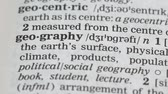 gramática : Geography word in english vocabulary, business and economic, school education