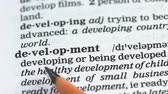 gramatika : Development word in english dictionary, education and improvement, challenge Dostupné videozáznamy