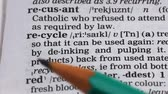 gramatika : Recycle word in dictionary, natural resources preservation, reusable materials