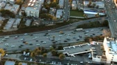 grade : Aerial View of Freeway  Highway  Suburbs -Los Angeles