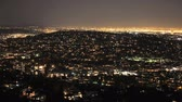 mappa : Panoramica Time Lapse di San Francisco griglia at Night