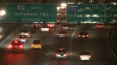 коммутирующих : Traffic on the 101 Freeway at Night  Los Angeles