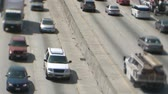 congestionamento : Tilt Shift of Heavy Traffic in Los Angeles. Vídeos