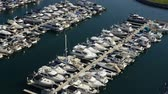 vela : Time Lapse of Marina in San Diego Stock Footage