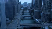 budowa : Chicago - Night to Day Time Lapse