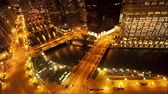 pontes : Overhead View of Downtown Chicago - Time Lapse