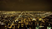budowa : Overhead View of Chicago - Time Lapse Wideo