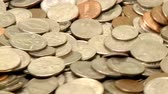dimes : Coins in Motion Stock Footage