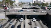passagem elevada : Downtown Los Angeles Traffic - Tilt Shift Vídeos