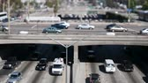 passagem elevada : Downtown Los Angeles Traffic - Tilt Shift - Zoom