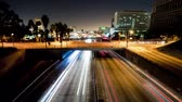 passagem elevada : Downtown Los Angeles Traffic - Time Lapse Vídeos