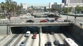 passagem elevada : Los Angeles City Traffic  Overpass - Time Lapse