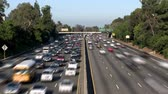 treibstoff : Los Angeles Verkehr Stock Footage