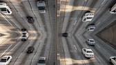 vervoer : VJ Traffic Time Lapse Stockvideo