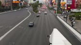 cassino : Las Vegas Strip - Time Lapse - Tilt Shift