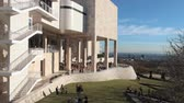 malarstwo : Time Lapse of the Getty Center in Los Angeles Wideo