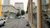 yeraltı : Time lapse of San Francisco Cable Car in Motion