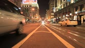 meşgul : Time lapse San Francisco City Streets at Night