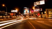 baton : Time Lapse of Traffic on the Sunset Strip - Los Angeles California