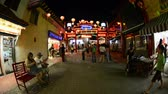 asiáticos : Time Lapse of Night People in China Town Downtown Los Angeles Circa Aug 2012 Vídeos
