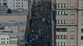 apartamentos : Pan of San Francisco City Traffic - Time Lapse