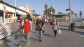 veneza : Time Lapse of the Venice Boardwalk
