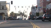 veneza : Time Lapse of the Venice Sign