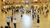 yeraltı : Grand Central Station Time Lapse