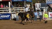 jezdec : Rodeo Cowboys - Bull Riding in Slow Motion