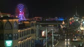 причал : Santa Monica Pier at Night